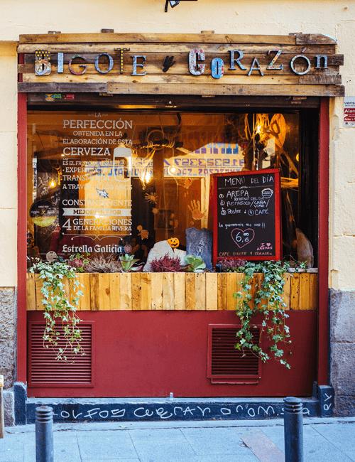 Café Bigote y Corazón