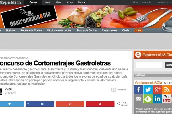 Gastronomía y Cía