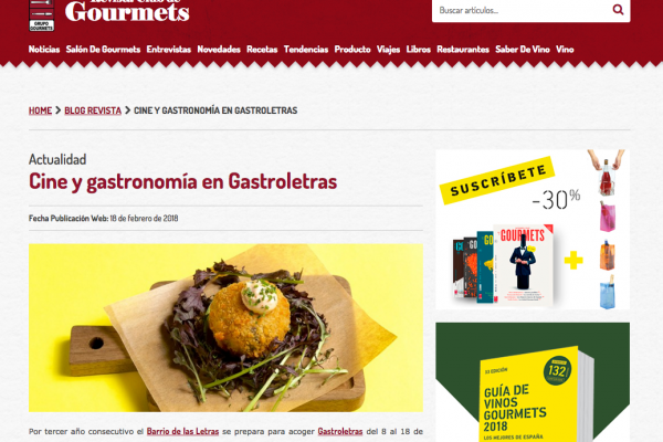 Revista Club de Gourmets