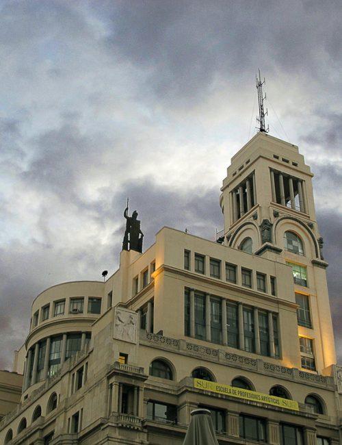 CÍRCULO DE BELLAS ARTES (Calle de Alcalá, 42)