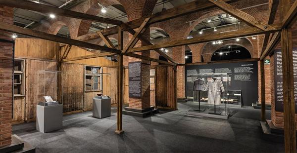 Interior exposición Auschwitz/Facebook