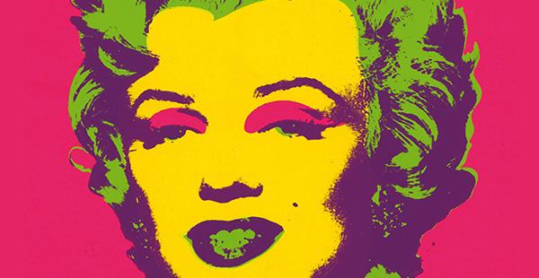 Cartel exposición Andy Warhol/ Caixa Forum Madrid