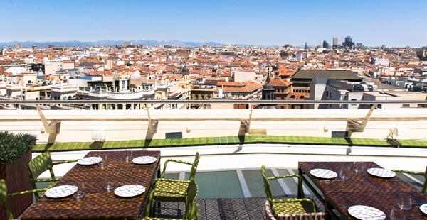 Tartan roof/ Círculo de Bellas Artes