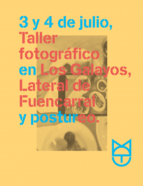 Taller fotográfico para no influencers