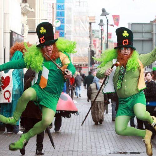 Celebrando San Patricio en Madrid