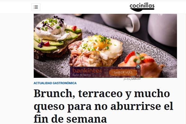 El Español: Brunch, terraceo y mucho queso para no aburrirse el fin de semana