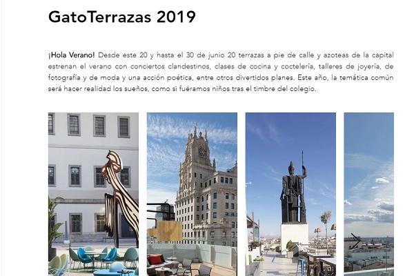 EsVidaMadrid: GatoTerrazas2019