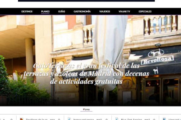 El Periódico: GatoTerrazas el gran festival de las terrazas y azoteas de Madrid con decenas de actividades gratuitas