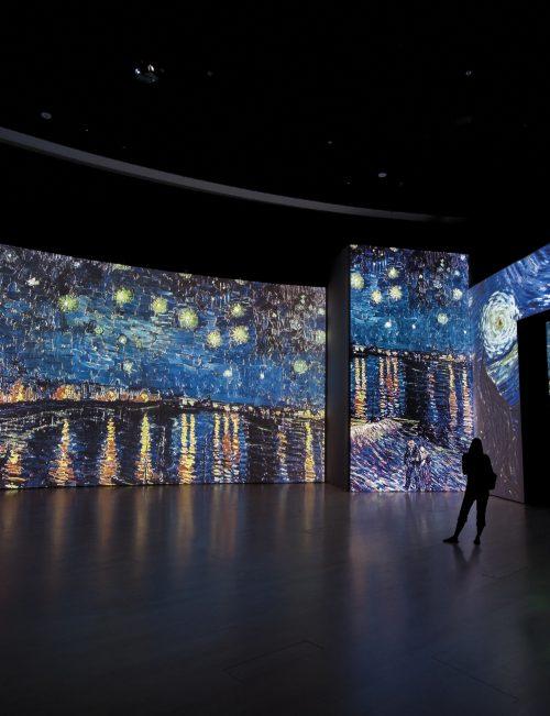 Arte inmersivo, la tecnología llega al museo
